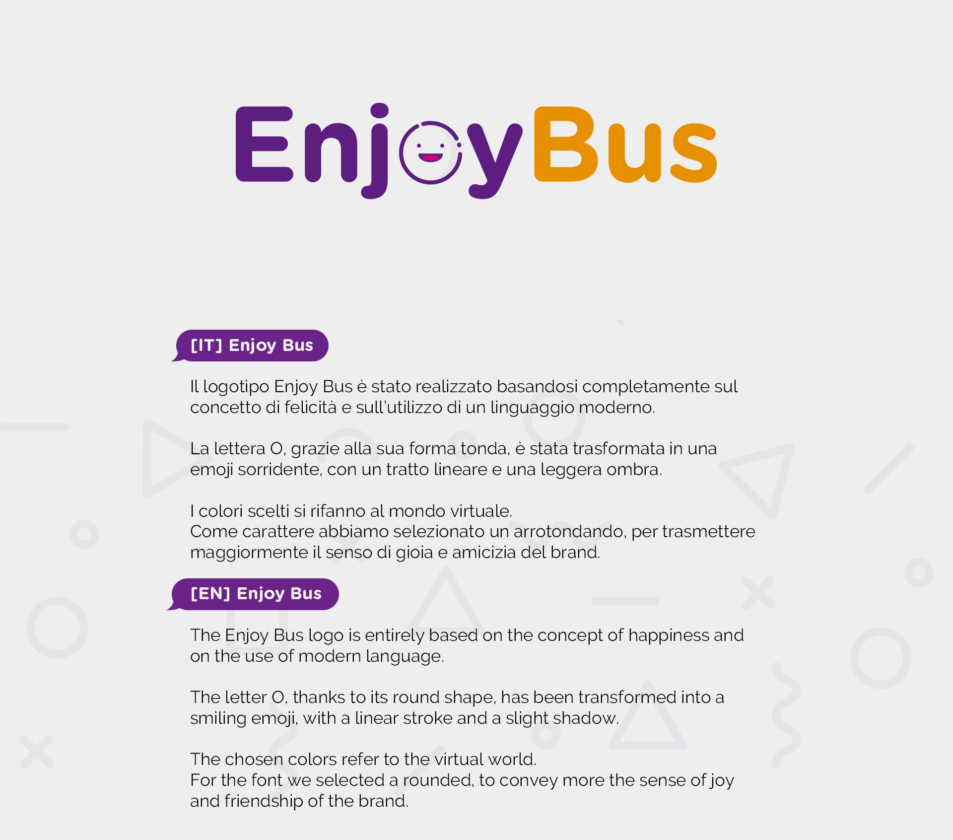Enjoy Bus Brand Image // Fabiano Bortolami