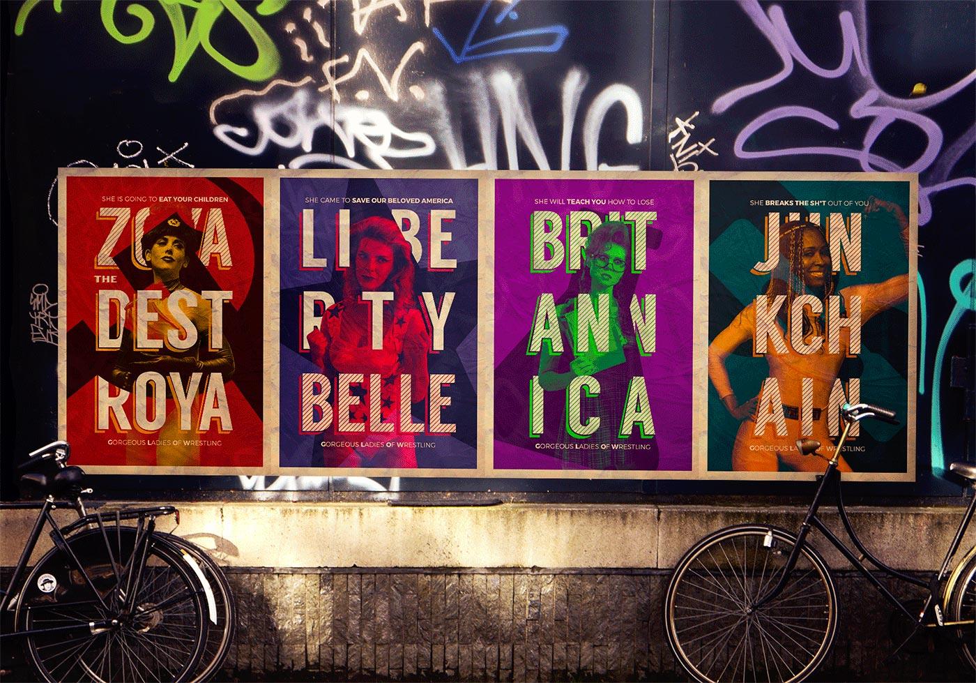 Glow Poster Design // Fabiano Bortolami