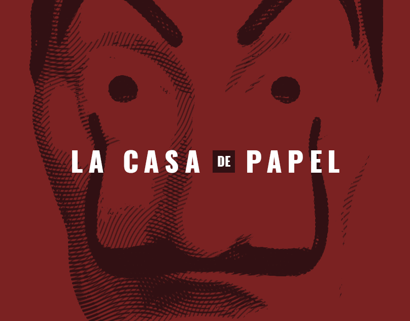 La Casa de Papel Design // Fabiano Bortolami