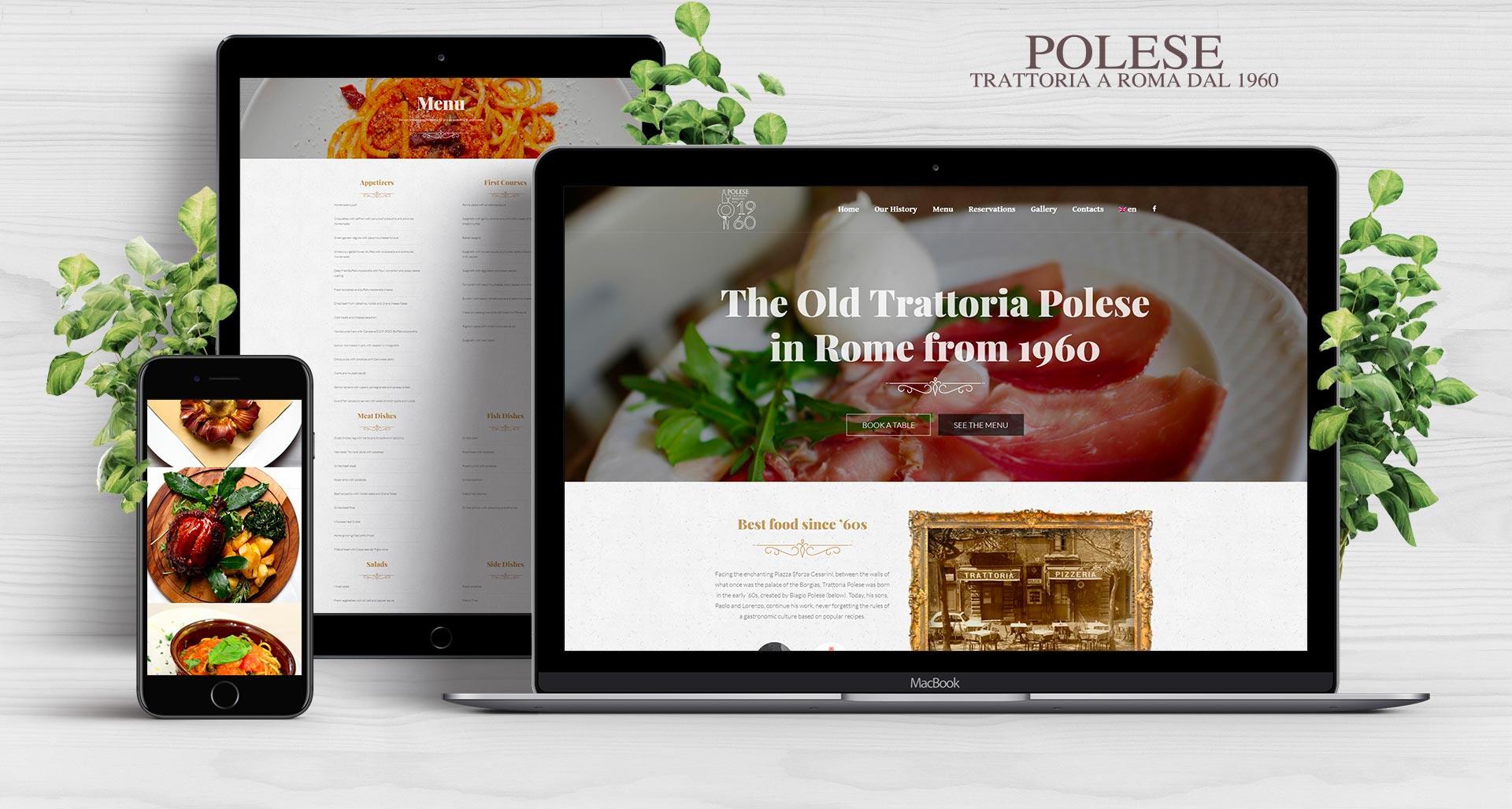 Trattoria Polese Web Identity // Fabiano Bortolami